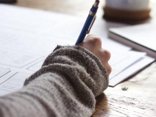 schrijven als uitweg